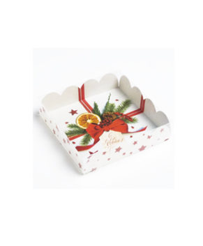 Коробка для пряников  С Новым годом, 13х13х3см