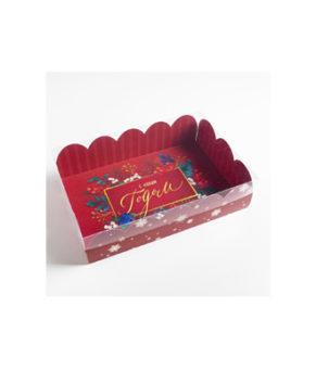 Коробка для кондитерских изделий С Новым Годом 20х30х8 см