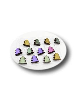 Пластиковая форма для шоколада Шоко Ёлки